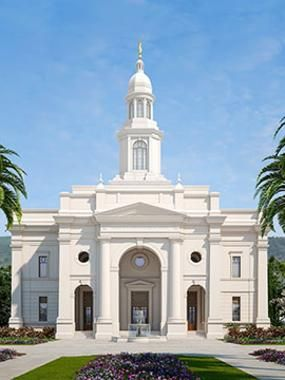 Concepción Chile Temple...this temple was announced in conference to be built right after my mission to Concepción. Joy!! ❤️