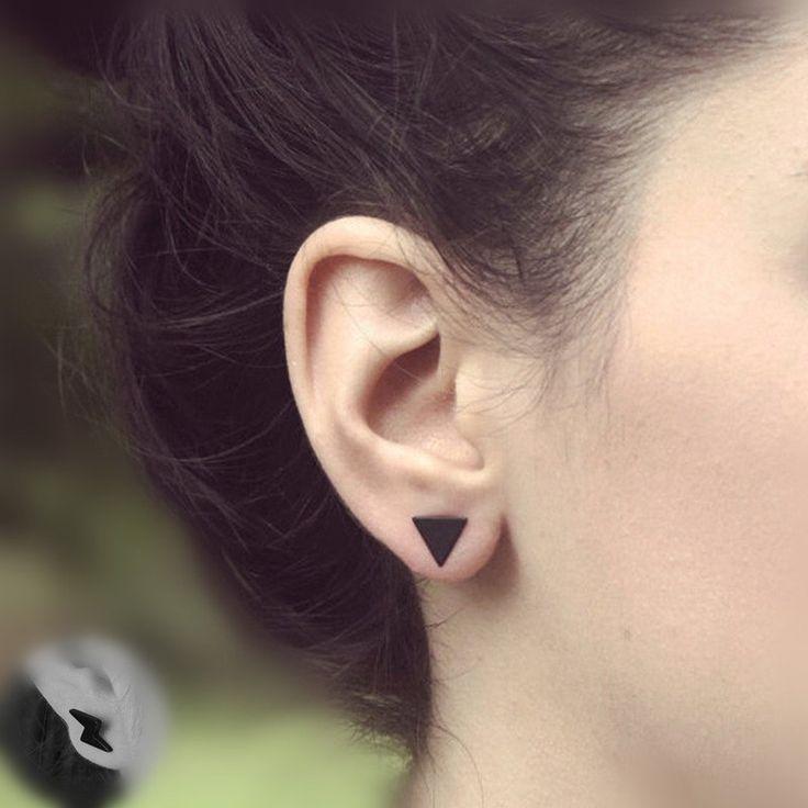 Stud Earrings (Triangle, Round, Flash, Bar)