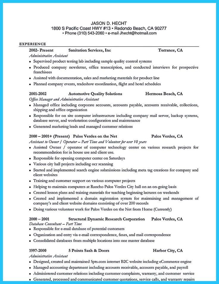 Más de 25 ideas increíbles sobre Server resume en Pinterest - production support resume