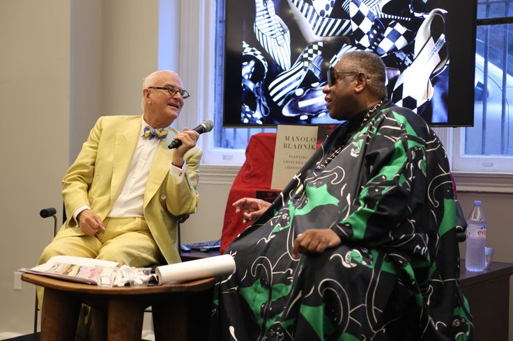 Manolo Blahnik and André Leon Talley Talk Rihanna, Trash, and Classic Style