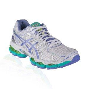 Asics - Gel Nimbus 16 Running Shoe - White/Periwinkle/Mint