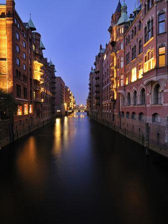 Hamburg Port - Old Storehouses