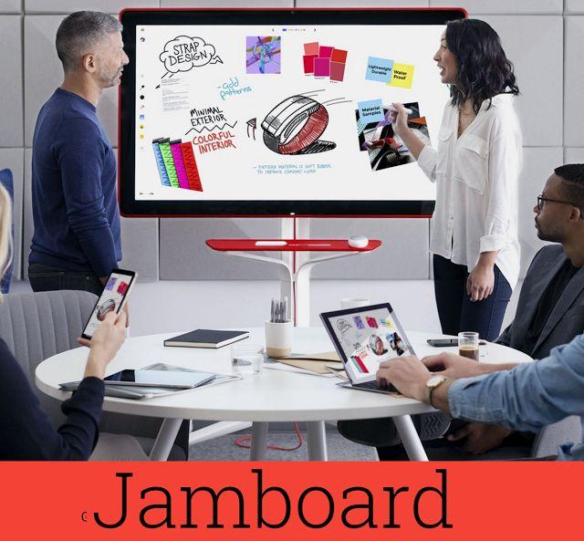 Crea y aprende con Laura: Jamboard, la nueva pizarra colaborativa de Google ...