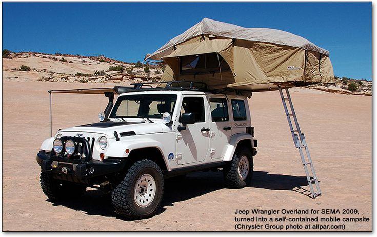 Jeep Wrangler Overland...LOVE!