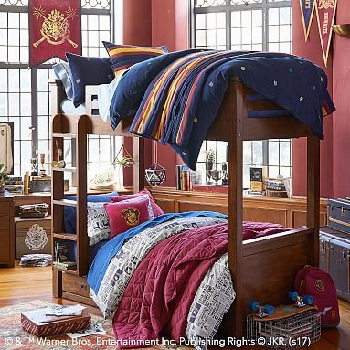 Harry Potter 8482 Hogwarts 8482 Striped Quilt Sham Harry