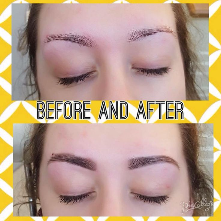 We love our HD Before and Afters... We just love this treatment :) #HD #HDBrows #Beauty #Makeup #Nails #Blush #Brows #BrowGoals #Goals
