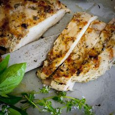 This Garlic Herb Marinated Chicken recipe is perfect for grilling up a healthy dinner.