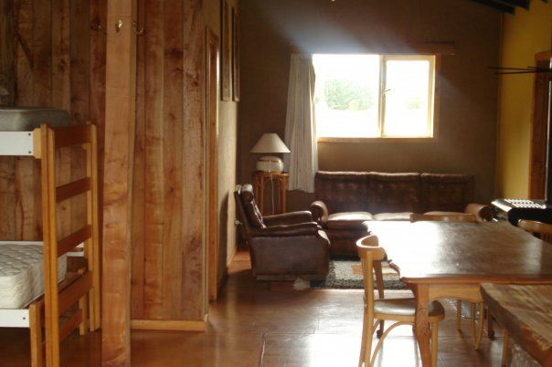 Interior cabaña mayor