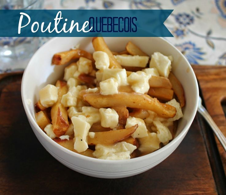 Marie's Pastiche: Our French Canadian Roots: Recipe for Poutine