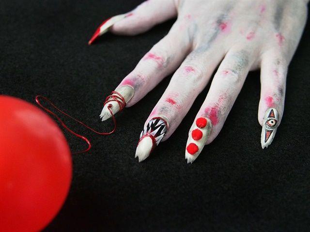 Beautiful Best 740 Halloween Nail Art Images On Pinterest Halloween