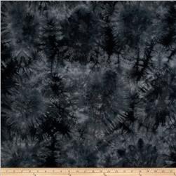 Bamboo Rayon Tie Dye Jersey Knit Black