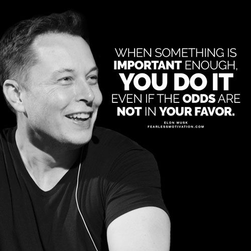 Elon Musk Quotes 75 Best Motivational Quotes Images On Pinterest  Elon Musk Tesla