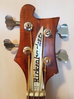 Rickenbacker Model 4001 LH 768 = Baujahr August 1972 in Bayern - Traunstein | Musikinstrumente und Zubehör gebraucht kaufen | eBay Kleinanzeigen