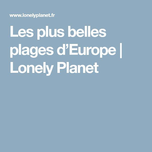 Les plus belles plages d'Europe | Lonely Planet