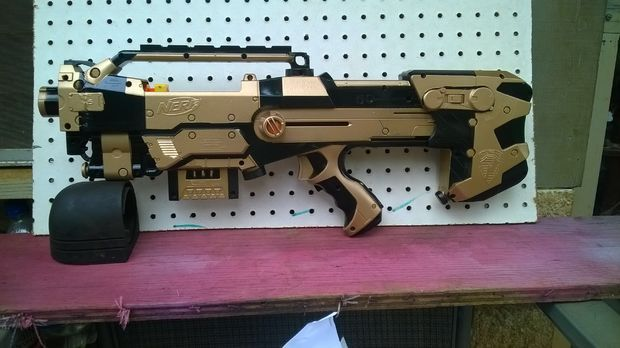 Picture of nerf longshot  custom paint mod 2