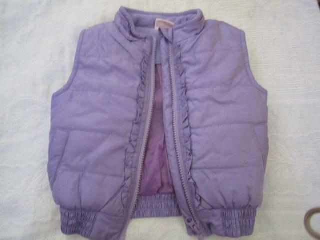 giubbotto da neonata senza maniche colore viola da 9-12 mesi