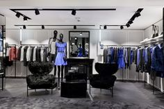 Karl Lagerfeld flagship store by plajer & franz studio & Vizona, London