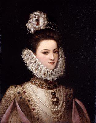 A Lady, ca. 1585 (Unknown Artist) Bowdoin College Museum of Art, Brunswick, ME