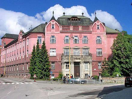 Pôvodná budova Žilinskej univerzity v Žiline