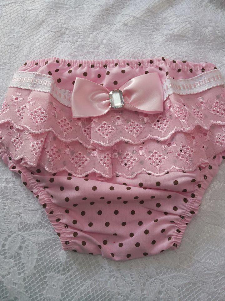 Calcinha feita em tecido 100%algodão,  tamanho P, M, G, GG  veste do bebe que usa fralda até tamanho gg