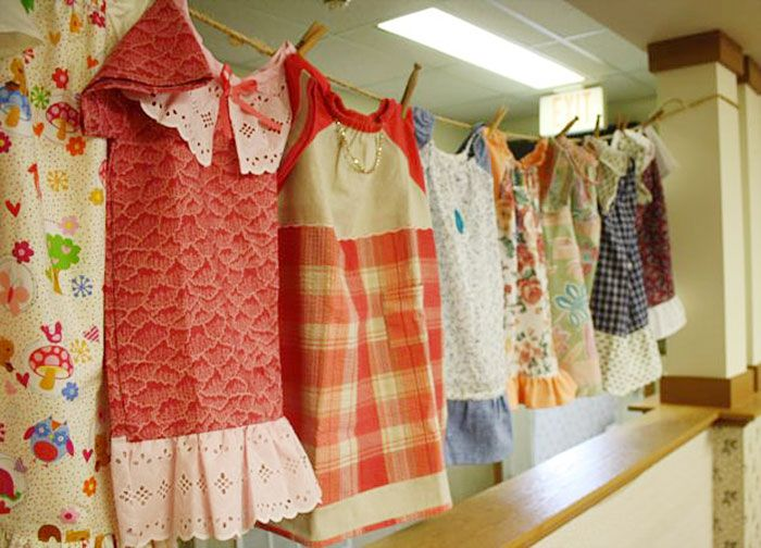 99-Year-Old Lady Sews A Dress A Day For Children In Need & 24 best Donations images on Pinterest | Little dresses Nancy ... pillowsntoast.com