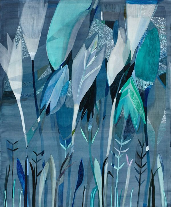 'Jungle Galaxy' by Australian artist Emily Ferretti via thedesignfiles.net