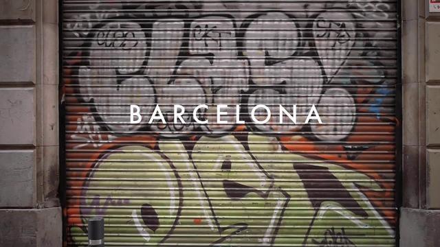 Texturas de la ciudad de Barcelona, España.