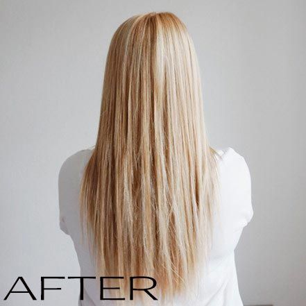 We <3 this result - such a great blonde and natural look.