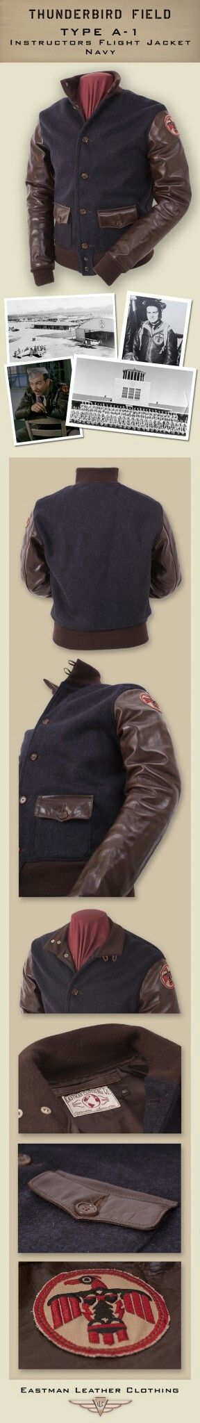 Thunderbird Field Instructor's Jacket- Eastman Leather
