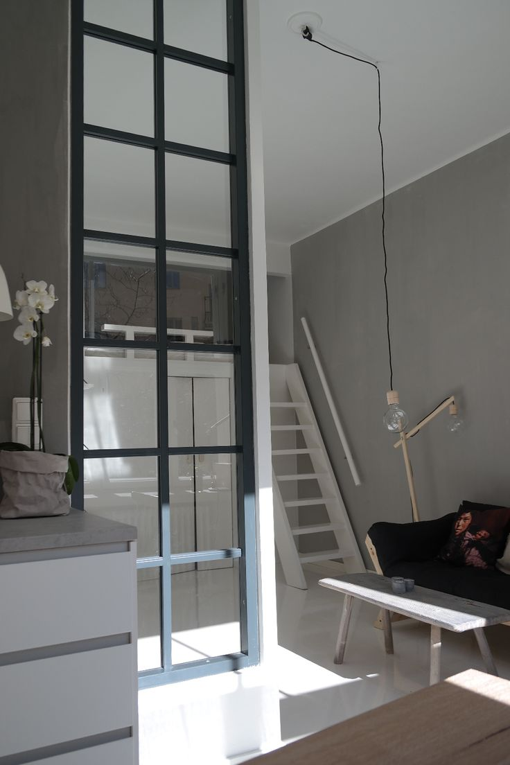 window element in the loft studio