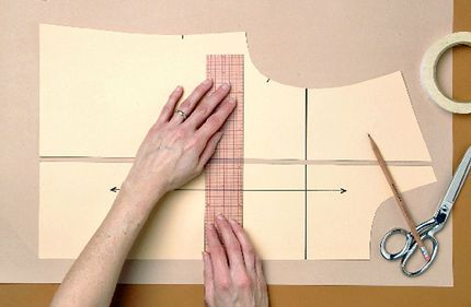 How to grade an existing sewing pattern to different sizes