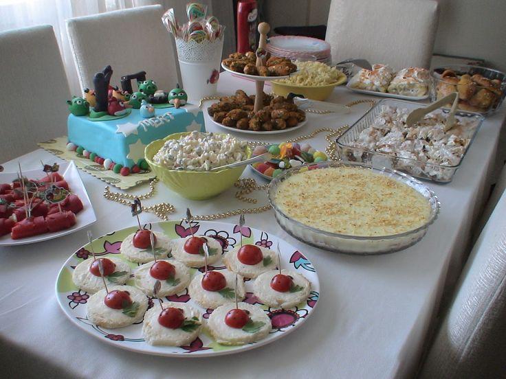 Mert'in Doğum Günü Menüsü http://lokumpilavi.blogspot.com/2013/04/mertin-dogum-gunu-menusu.html