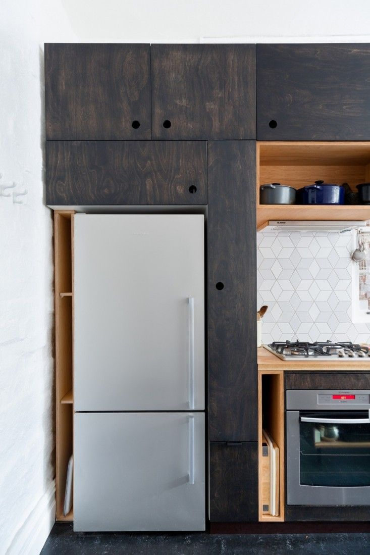 Kitchen Of The Week A Seventies Overhaul By Hearth Studio Plywood Kitchen Studio Kitchen 1970s Kitchen Remodel