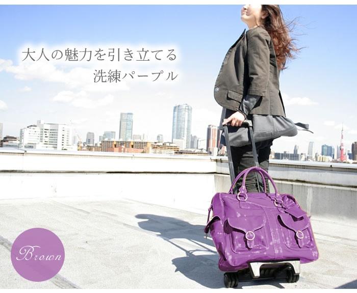 enamel coated carry-on bag