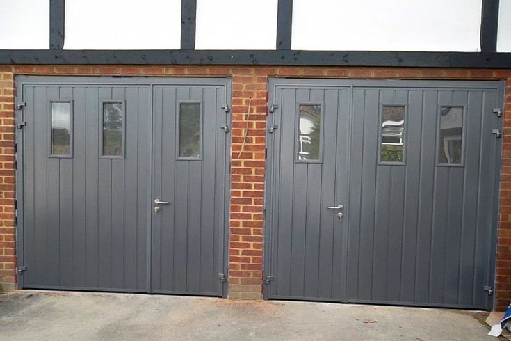 Best 25 Side Hinged Garage Doors Ideas On Pinterest