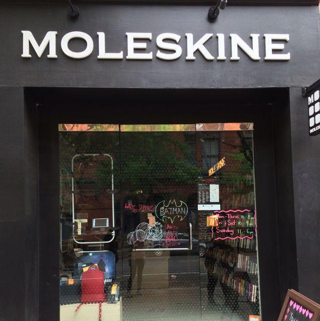 Moleskine Store in New York, NY