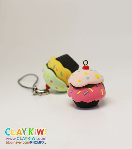 Free Cupcake Tutorial for Fimo or Polymer Clay