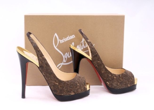Christian Louboutin Peep Toe Shoes London | Bowes-Lyon products ...