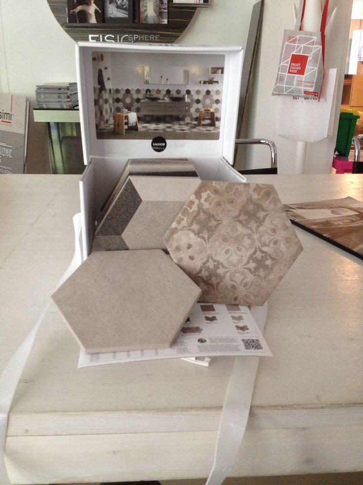 Piastrelle effetto cementine Rewind Ragno Ceramiche www.magnicasa.it