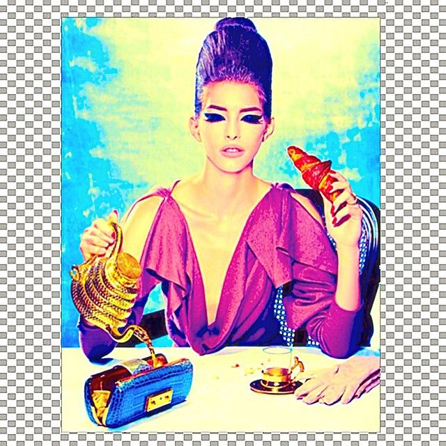 Magazine: Harper\'s Bazaar SingaporeIssue: September 2011Editorial: Fit To A TeaModel: Henriett |Ave|Hair