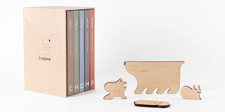 CHOMP - Food Chain Puzzle Books