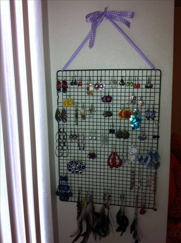 The 25 best Diy earring holder ideas on Pinterest Diy jewelry