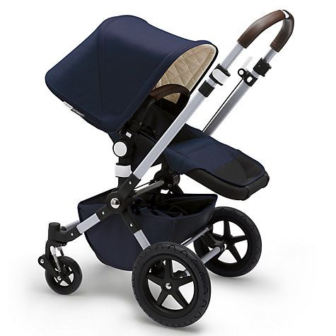 Buy Bugaboo Cameleon3 Classic+ Pushchair, Navy Online at johnlewis.com
