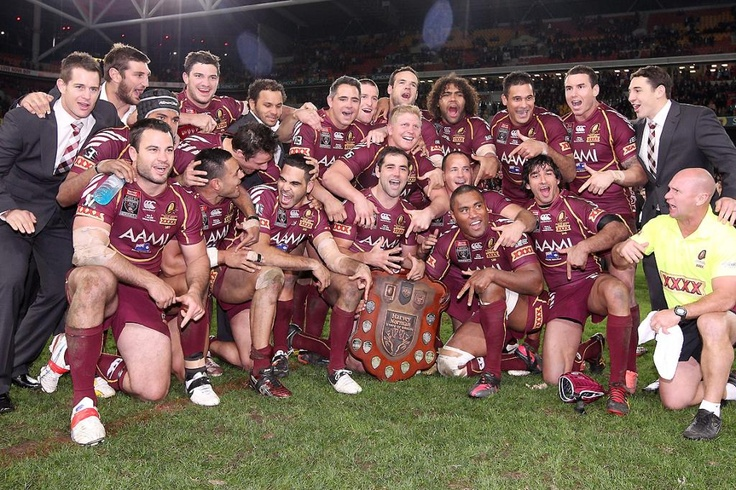 2012 Queensland Maroons 7 years in a row