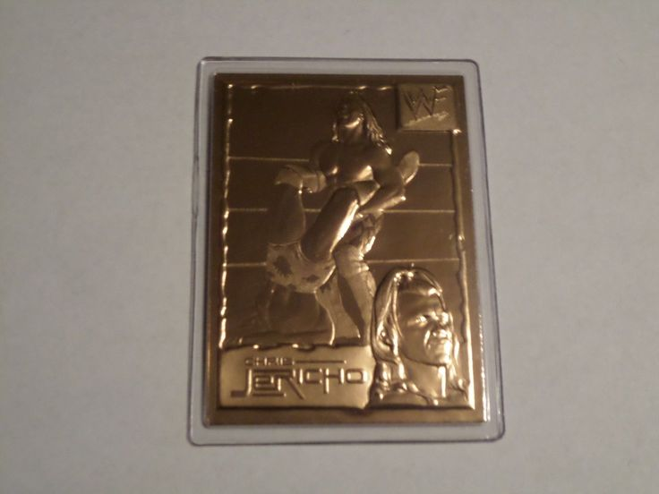 Chris Jericho Y2J WWF WWE (1999-2005) 22kt Gold Danbury Mint #23 Collectors Card - http://bestsellerlist.co.uk/chris-jericho-y2j-wwf-wwe-1999-2005-22kt-gold-danbury-mint-23-collectors-card/