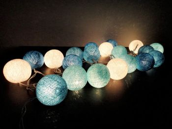 40pcs/2sets sky blue christmas String Lights Balls,cristmas decorations,Wedding,party decoration,christmas fairy light,Free Ship