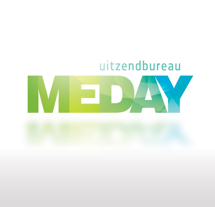 Logo design for Meday. Employment agency.