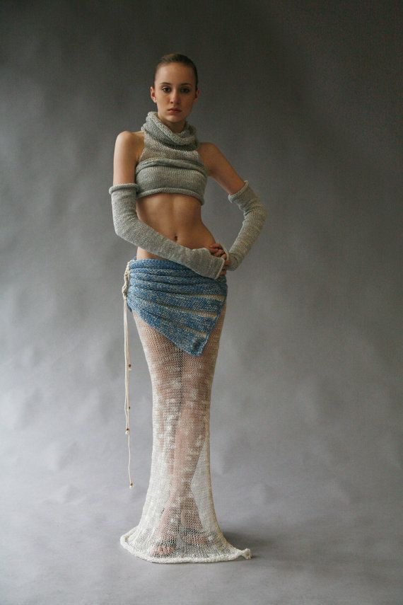 High Fashion Knitting : Best experimental knitwear images on pinterest