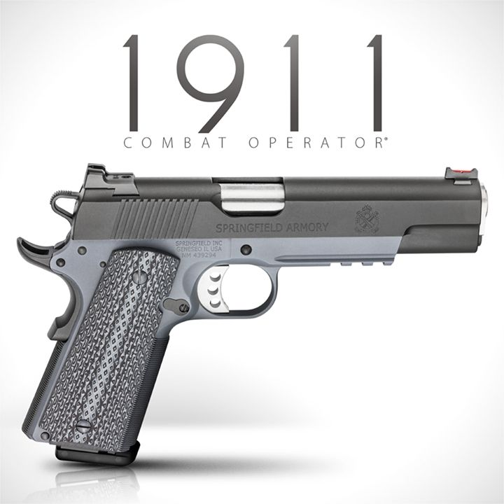 Springfield Armory NEW Combat Operator 1911 Caliber 9mm