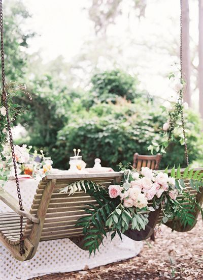 Southern Weddings V6: Southern Charm - Southern Weddings Magazine Jen Huang Photography Photo styling Elizabeth Demos Flowers Poppies & Posies